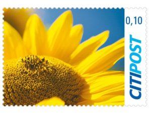 Briefmarken Sonnenblume