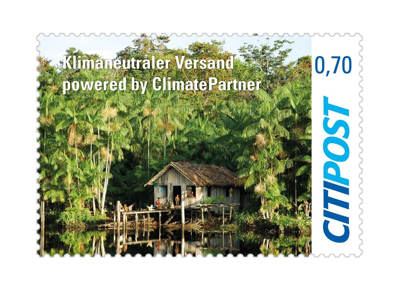"Markenheft Standardbrief ""Klimaneutraler Versand"" 0,70 €"
