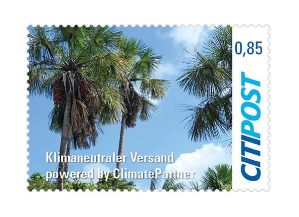 Briefmarken Klimaneutral