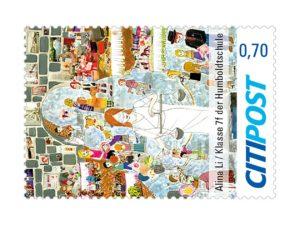Briefmarke Friedensbotschaft 2019