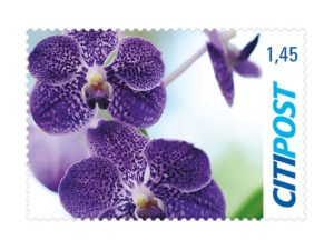 Briefmarken Orchidee