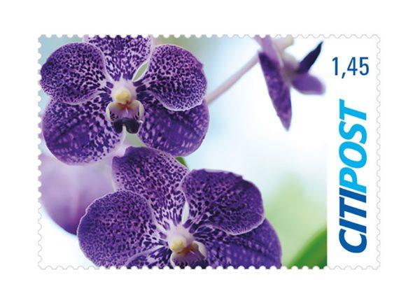 Briefmarken Orchidee