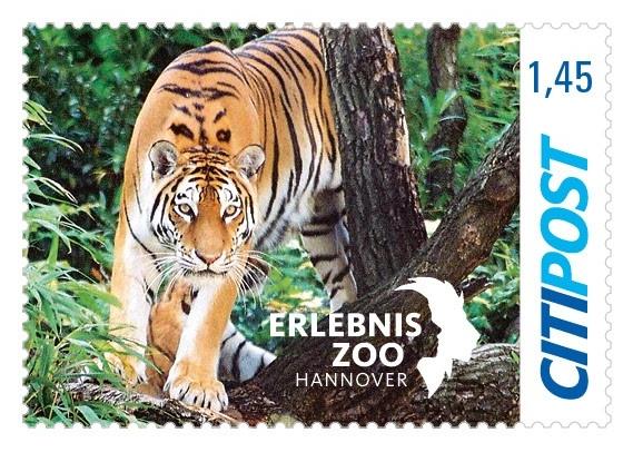 Briefmarken Tiger